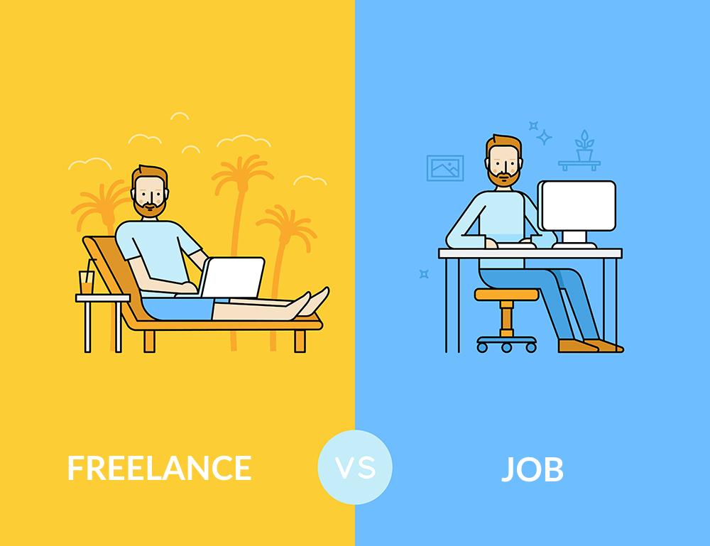 Freelance vs Job